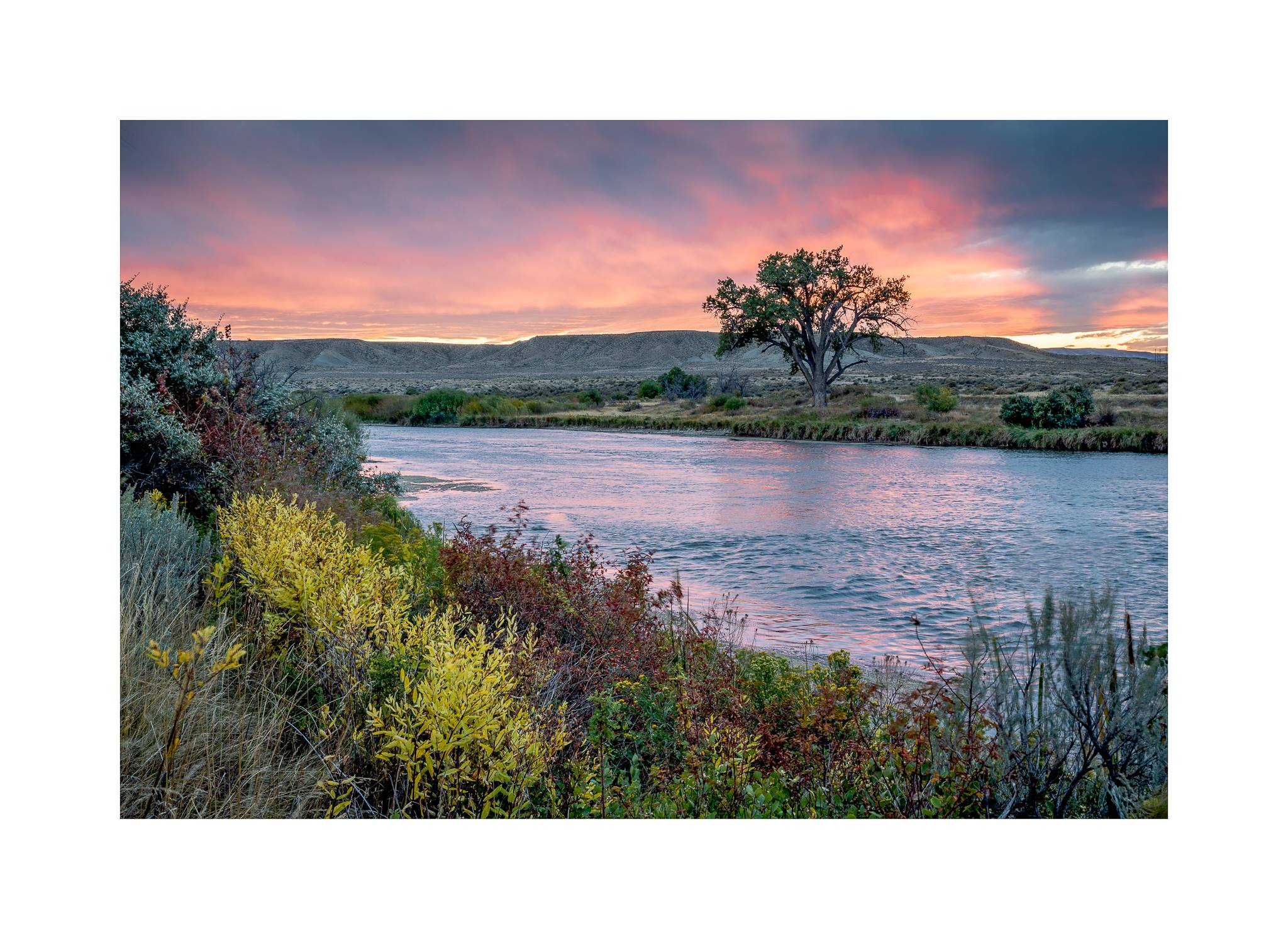 the North Platte River West of Casper, WY by Mark Boname.jpg