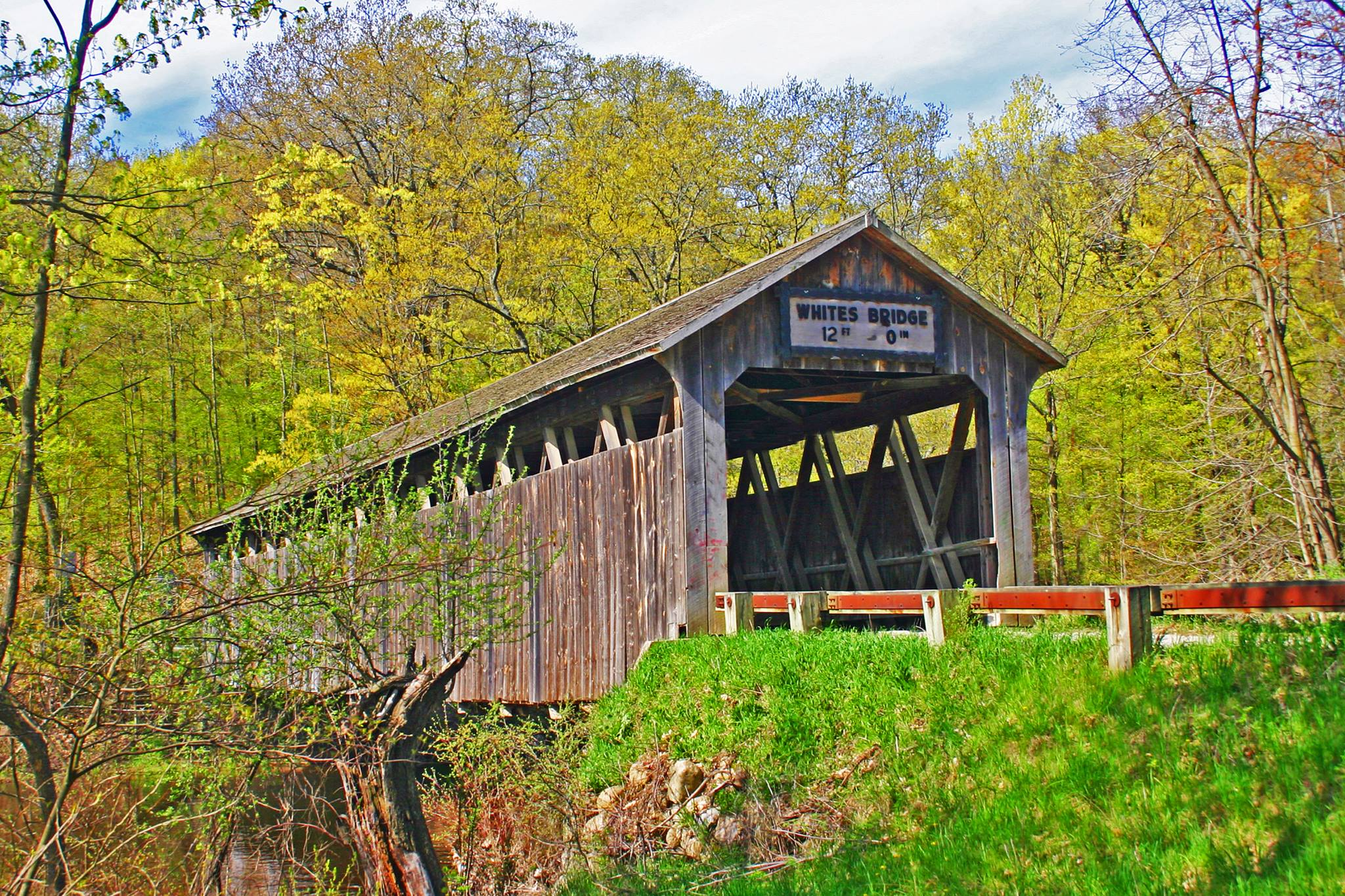 Covered Bridge at Summer, Lowell MI.jpg
