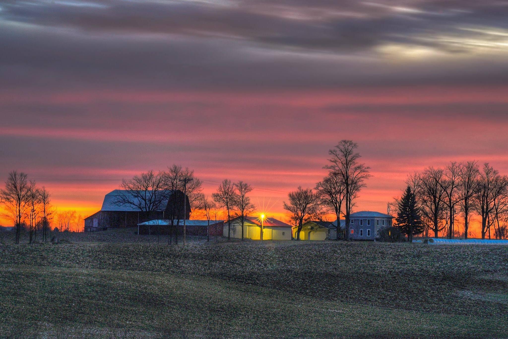 Craig Gardiner Photography was near Martin when he snapped this sunrise shot.jpg