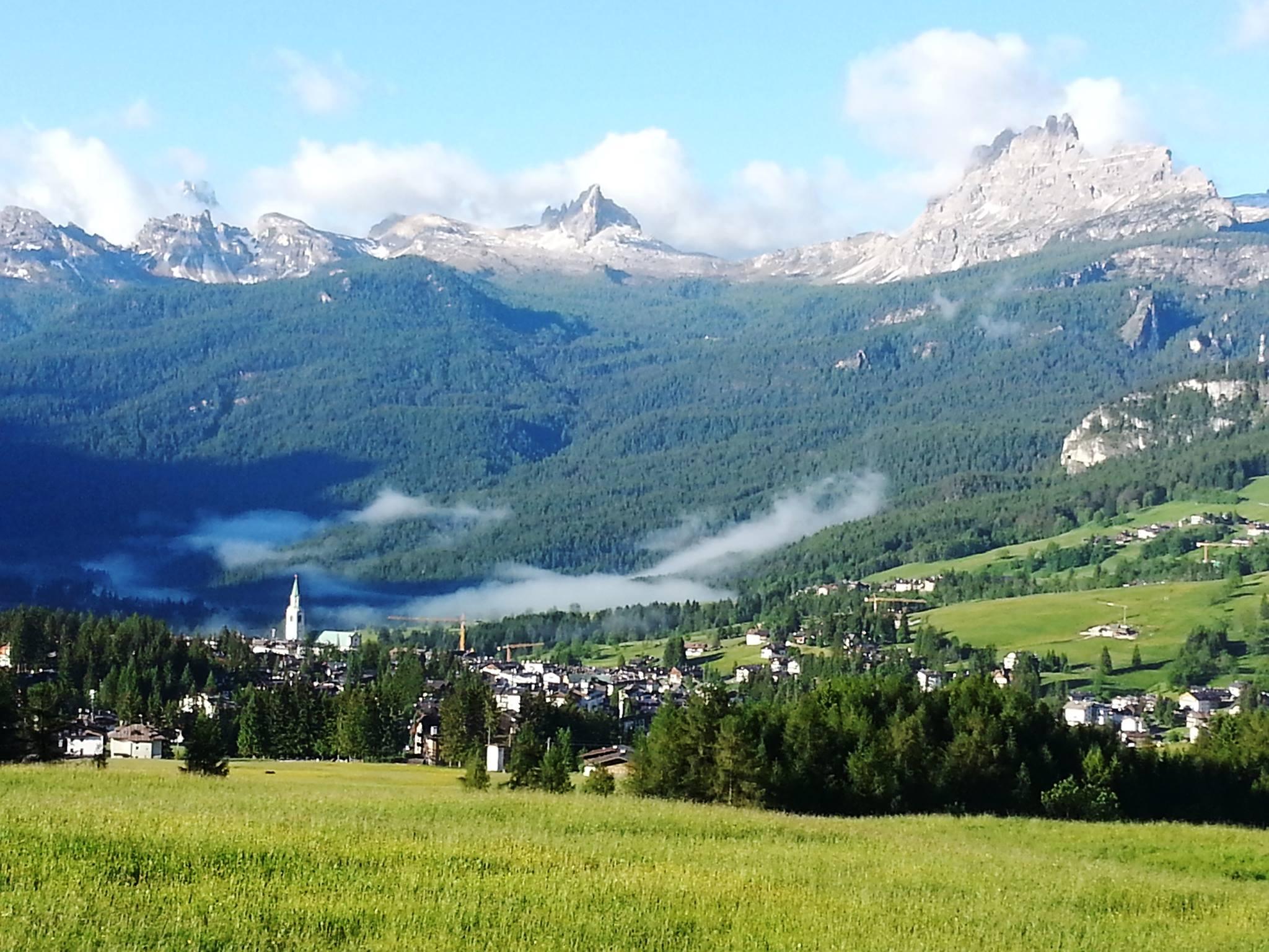 The church at Cortina d'Ampezzo, Italy..jpg