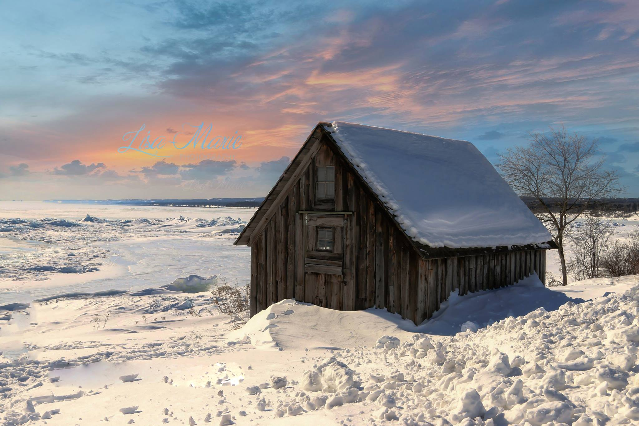 The North Shore Shack on Lake Superior in Minnesota by Lisa Feiker-Willey.jpg