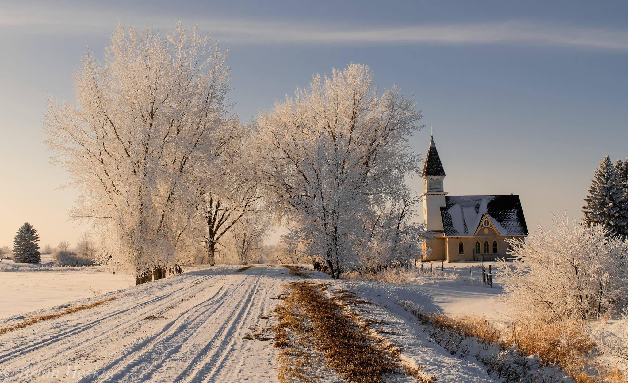 Norway Lutheran church south of Denbigh, North Dakota.jpg