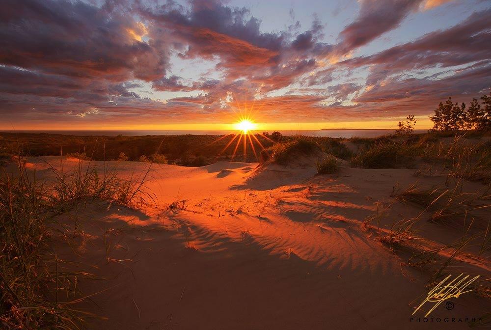 Sleeping Bear Dunes National Lakeshore sunset.jpg